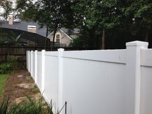 Vinyl (PVC) Fence Orlando